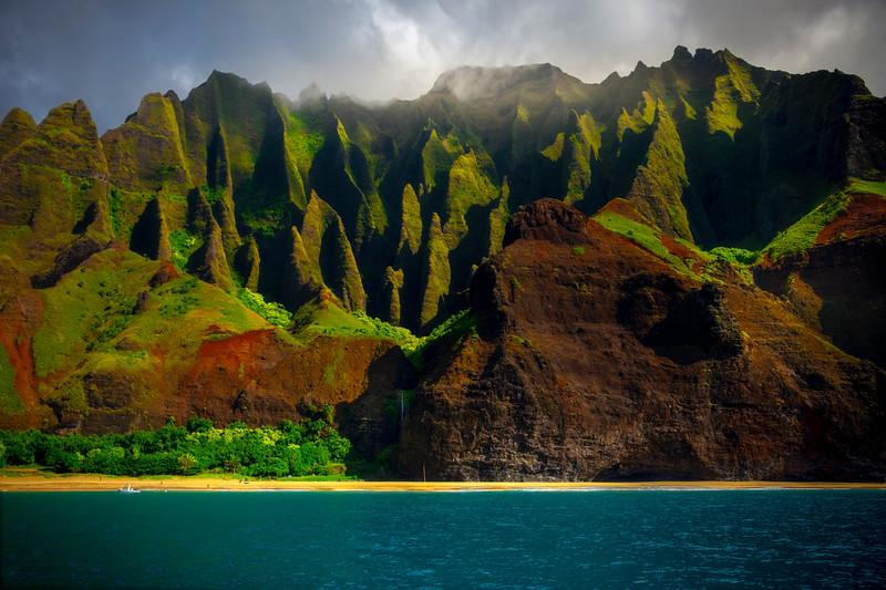Tropical Paradise Moments - Na Pali Coastline, Kauai, Hawaii