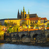 Early Morning Light And Charles Bridge