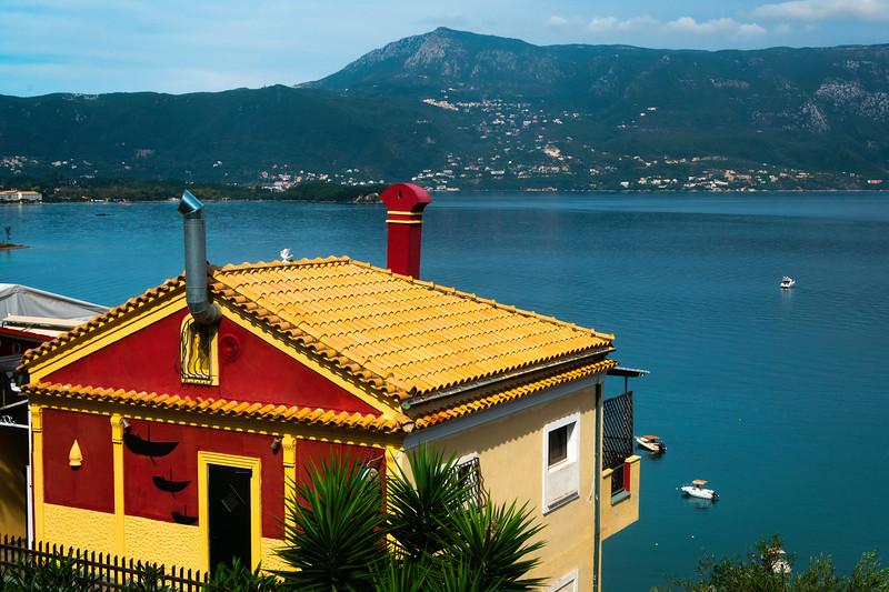 The Color Houses Of Corfu - Corfu, Greece