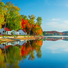 Lakeside Fun At The Resort - Algonquin Provincial Park, Nipissing, South Part, Ontario, Canada