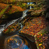 Eddy Pools Beneath The Bridge- Ricketts Glen State Park, Benton,  Pennsylvania