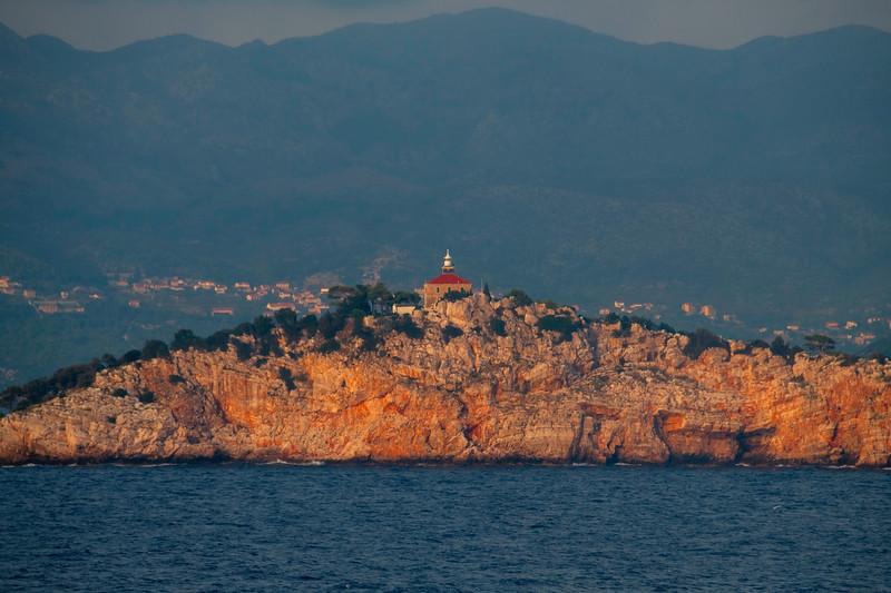 Warm Light Bouncing Off The Coastline Rocks - Dubrovnik, Croatia