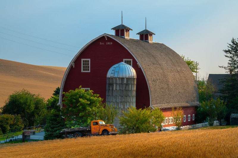 Pieces Of Time Left To Ponder - Palouse, Eastern Washington