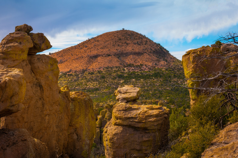 A View Of Sugarloaf Mountain From The Echo Canyon Trail - Chiricahua National Monument, Arizona