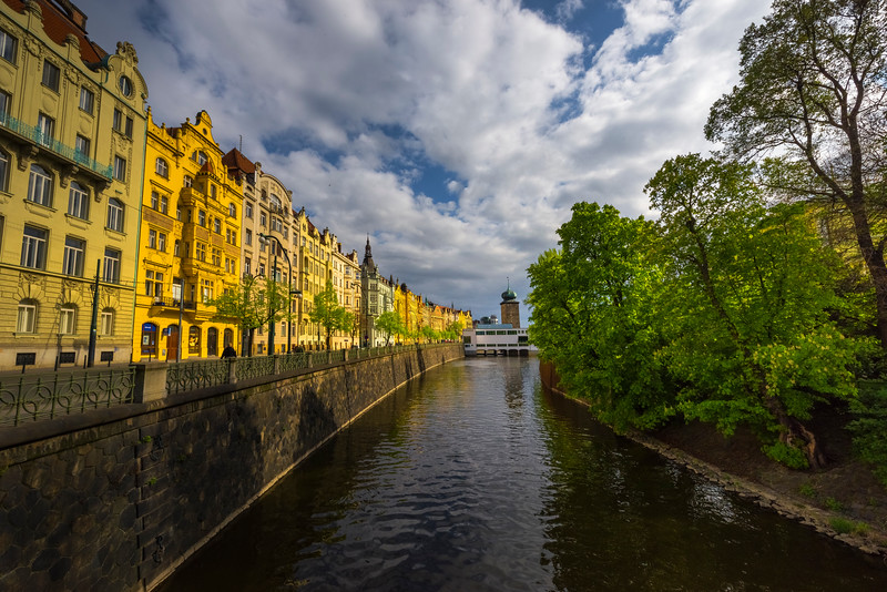 Along The Banks Of The Historic River