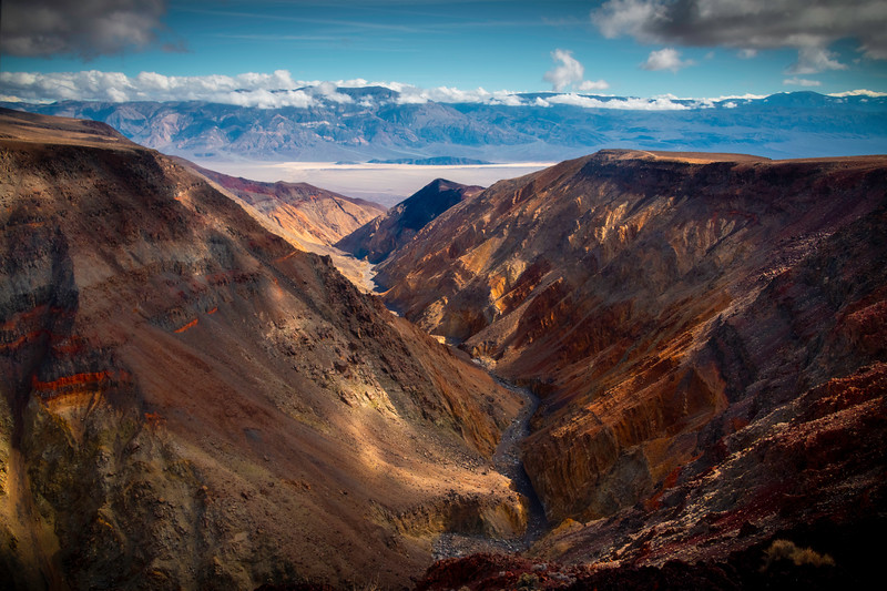 Winding Through The Canyons Into Panamint Springs