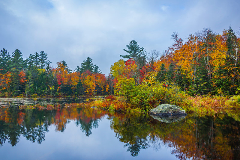 Subtle Overcast Light Makes For Nice Reflections - Vermont