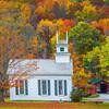 Arlington Covered Bridge And Historic Church - Vermont