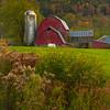 Late Evening Light On The Barn-Addison Upstate New York, NY