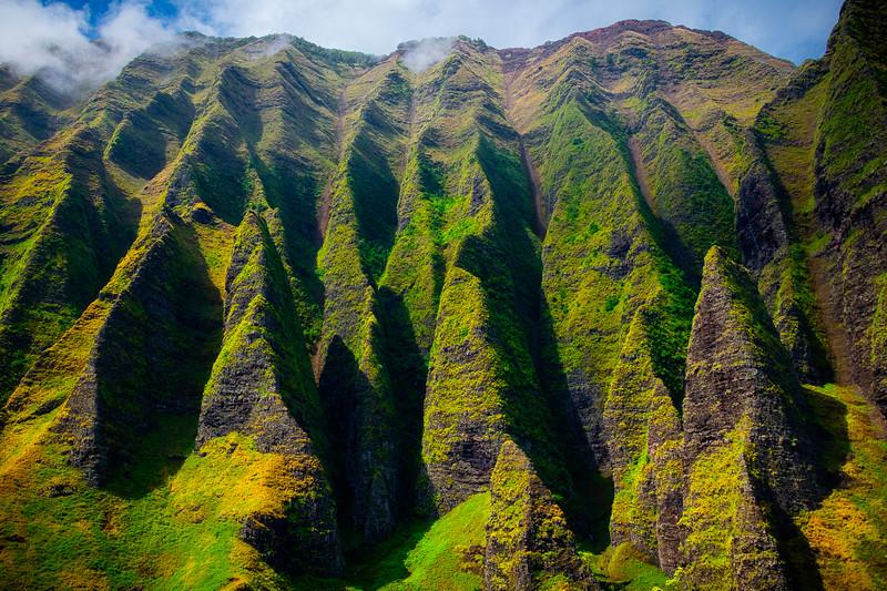 Below The Jaws Of Death - Na Pali Coastline, Kauai, Hawaii