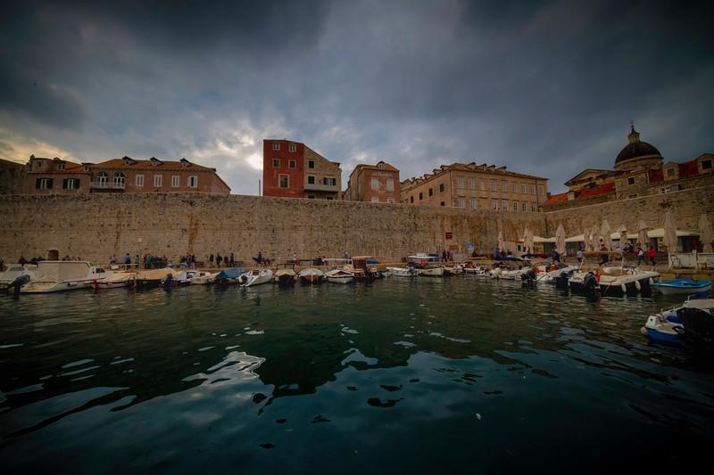 Inside The Old Town Marina - Dubrovnik, Croatia