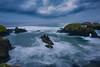 A Storm Brewing Over The Headlands Along The California Coast - Mendocino Headlands, California