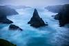 Mendocino Headlands Strom Waves - Mendocino Headlands, California