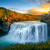 Letchworth State Park At Sunset
