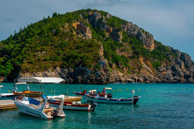 The Blue Grotto Marina - Corfu, Greece