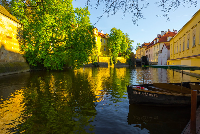 Down In The Canals Of Prague