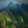 Pyramids Of Time Along The Na Pali - Na Pali Coastline, Kauai, Hawaii