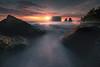 Caught Between Two Rocks Rialto Beach, Olympic National Park, Washington