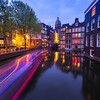 The Back Canals Under Twilight Hours