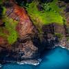 When The Waterfalls Meet The Ocean - Na Pali Coastline, Kauai, Hawaii