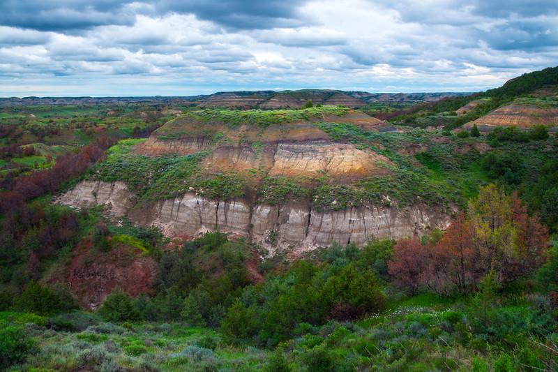 Badlands Plateau - Theodore Roosevelt National Park, North Dakota