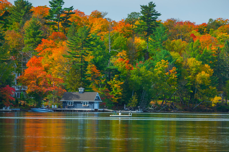 Outskirts of Huntsville Along Fairy Lake -Huntsville, South Part, Ontario, Canada