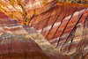 Abstract Painting Of Colors In The Paria Canyons - Paria Ghost Town, Painted Hills, Grand Staircase-Escalante National Monument, Utah