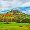 At The Peak Of Autumn In Rural Vermont