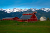 Idyllic Farm Setting In Wallowas Wallowa County, Oregon