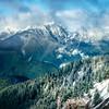 The Olympics Covered In A Fresh Dusting Of Snow - Hurricane Ridge, Olympic National Park, WA