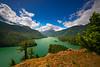 Diablo Lake Afternoon Light - Diablo Lake Viewpoint, North Cascades National Park, WA