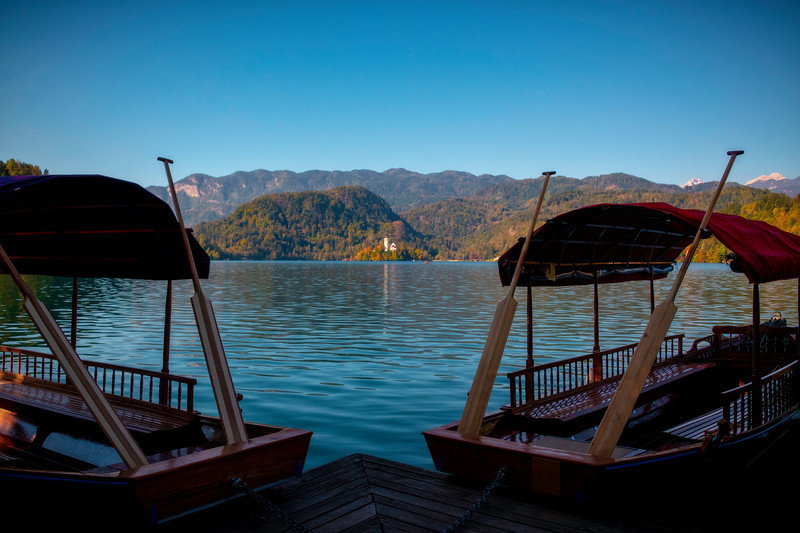 A Good Morning For A Boat Ride - Lake Bled, Bled, Slovenia