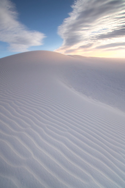Wings Of Light Glancing Over Sand - White Sands National Monument, New Mexico