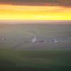 Fire Sunset From Steptoe Butte - The Palouse Region, Washington