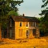 Morning Light On The Old House - Palouse, Eastern Washington