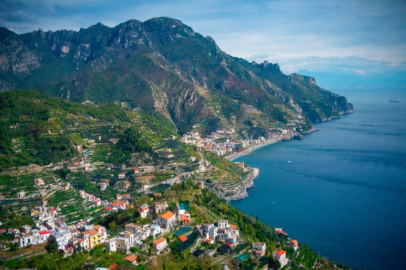 Rolling Hills Of Ravello And The Amalfi Coast - Ravello, Amalfi Coast, Campania, Italy