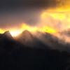 Sunset Magic Near Sunset In The Cascades - Mount Rainier National Park, WA