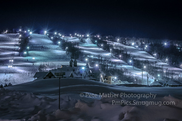 NIGHT SKIING with Jozo Weider Rd sign
