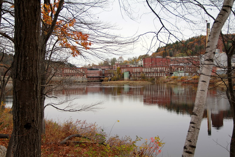 Otis Mill on the Androscoggin River, Jay, ME