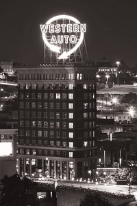 Western Auto Building in Kansas City.
