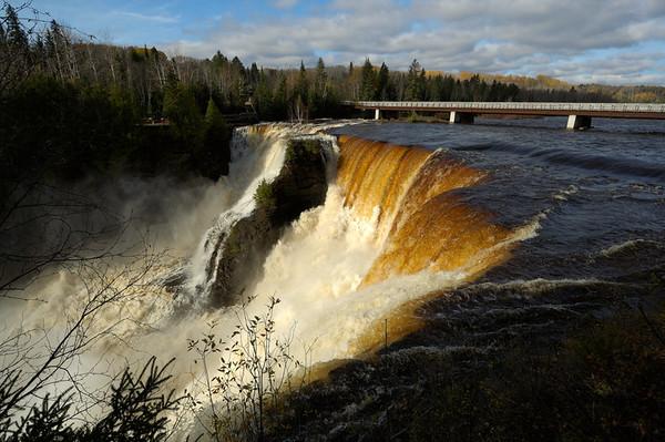 Kakabeka Falls all seasons