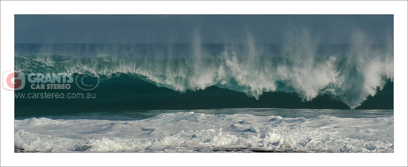 Amazing shore break at Jaques Point, Kalbarri, Western Australia.