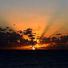Sunset in Kalbarri, Western Australia.