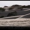 Sand Dunes at Lucky Bay, South of Kalbarri, Western Australia.