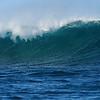 Ocean waves at Kalbarri, Western Australia.