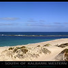 Lucky Bay - South of Kalbarri, Western Australia.<br /> This image can be enlarged to over 7 meters in length and still perfect clarity!