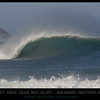 The perfect wave near Red Bluff  Kalbarri, Western Australia.