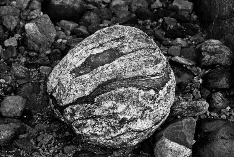 Stein fra Hardangervidda