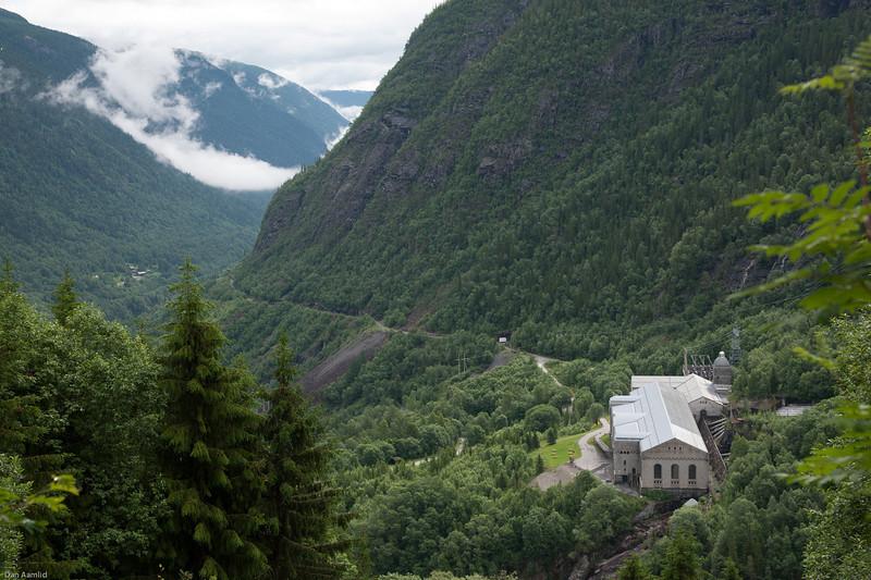 Vemork gamle kraftstasjon, Rjukan 2012