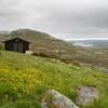 Utsikt fra Stordalsbu mot Stordalsloni/Viervatnet